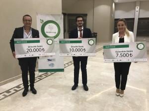 SolarSensPest Projesi TET Ar-Ge Proje Pazarı 6'da Akıllı Enerji Kategorisinde 3.'lük ödülü